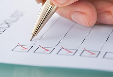 Pre-Disbursement Checklist